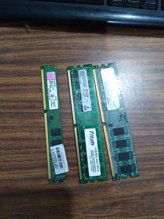 Vendo <strong>memoria</strong>s Ram