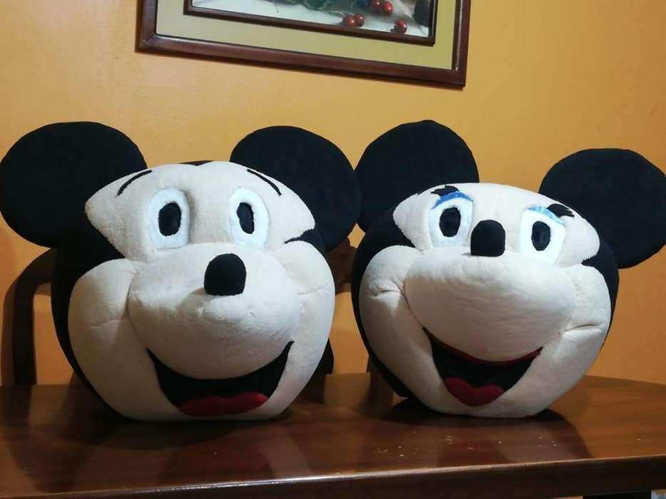 Botarga, Mickey y Minnie