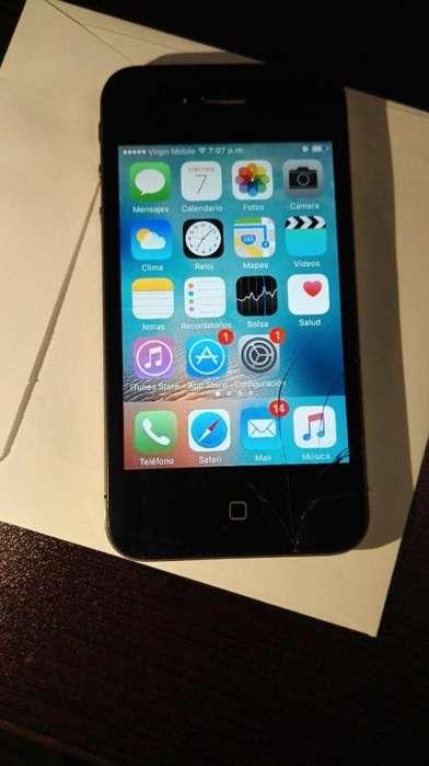 Iphone 4s Negro Como Nuevo - EXCELENTE ESTADO - Con Cargador Original Iphone 4s
