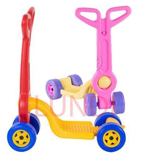 Patineta Scooter Boy Toys 4 Ruedas Juguete Nuevo Montable