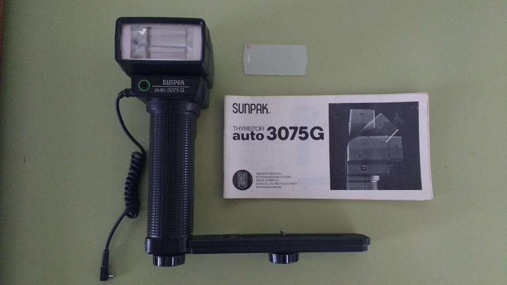 Flash Sunpak Thyristor auto 3075G