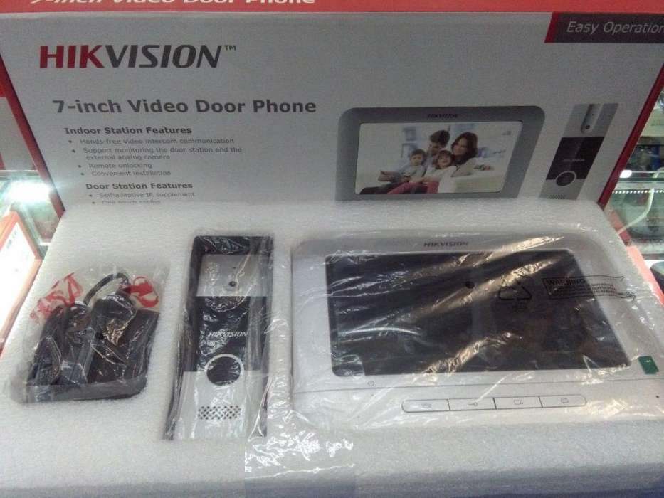 <strong>video</strong> portero análogo /kit de <strong>video</strong> portero análogo hikvision/pantalla hikvision