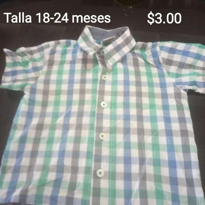 Camisas Y Camisetas desde 1 para Nino