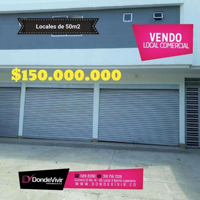 Oportunidad: Locales Comerciales en Centro de Valledupar Excelente Precio!