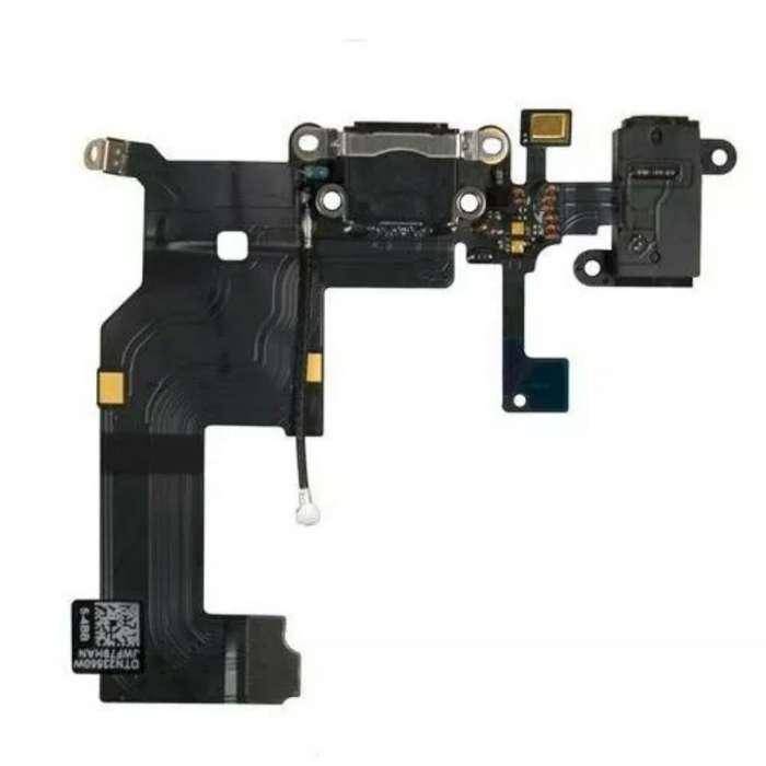 Flex de Carga iPhone 5, Jack Audio.