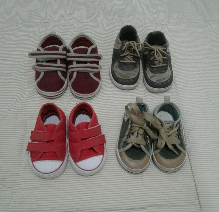 Zapatos Talla 19 para Niño