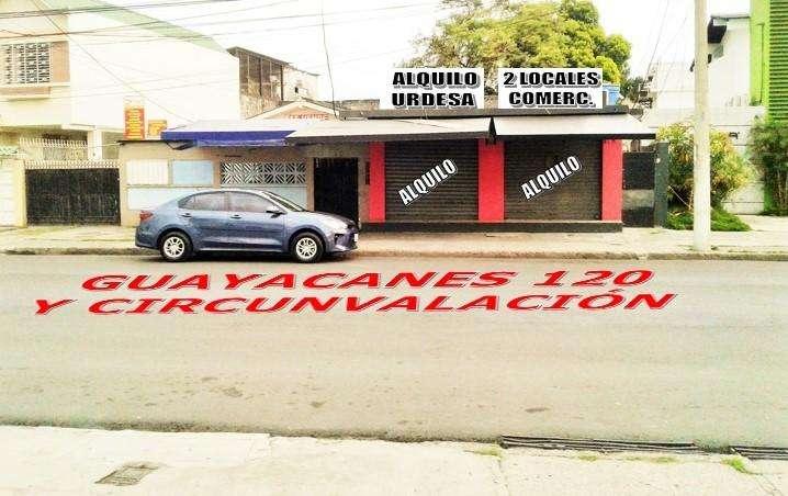 Alquilo 2 locales comerciales en Urdesa