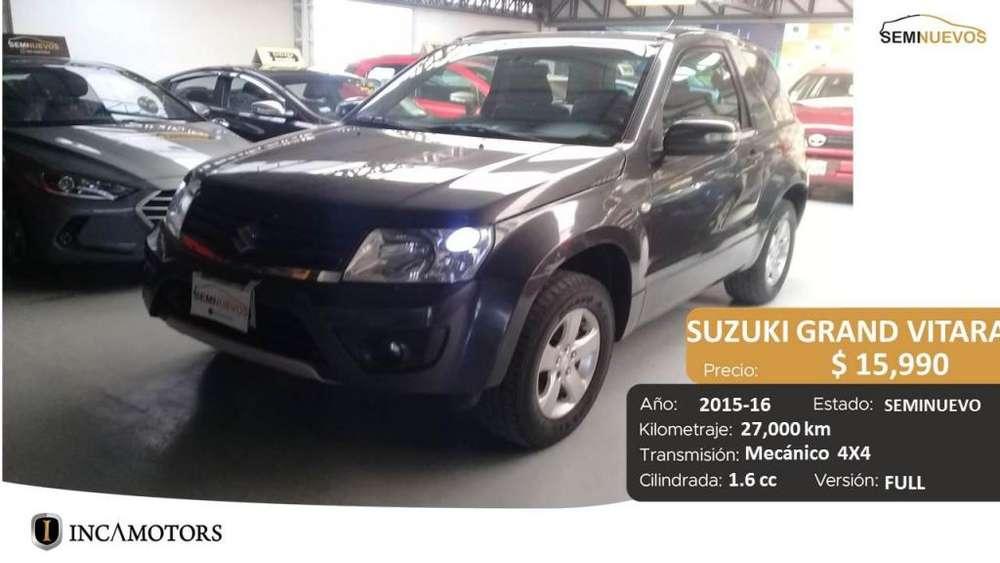 Suzuki Grand Vitara 2016 - 27000 km