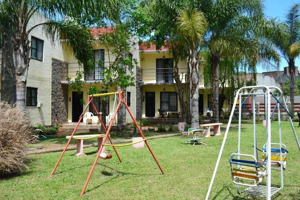 nn47 - Cabaña para 2 a 5 personas con pileta y cochera en Colón