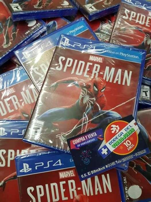 Spiderman Ps4 Nueva Español
