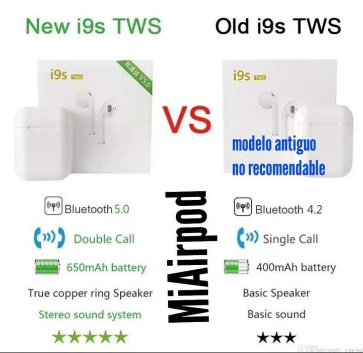 Audífonos I9s Bluetooth 5.0 Envio Gratis