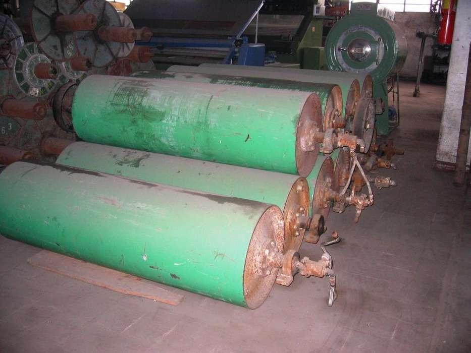 Tambores secadores de acero teflonados