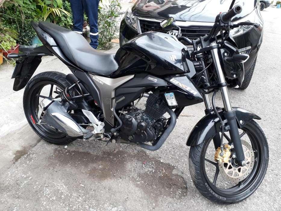 Suzuki gixxer 2018