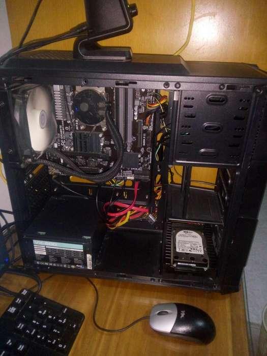 PC de escritorio precio rebajado! completo monitor 19