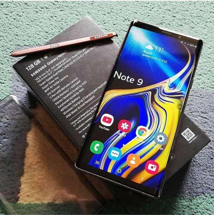 Samsung Galaxy Note 9 en caja