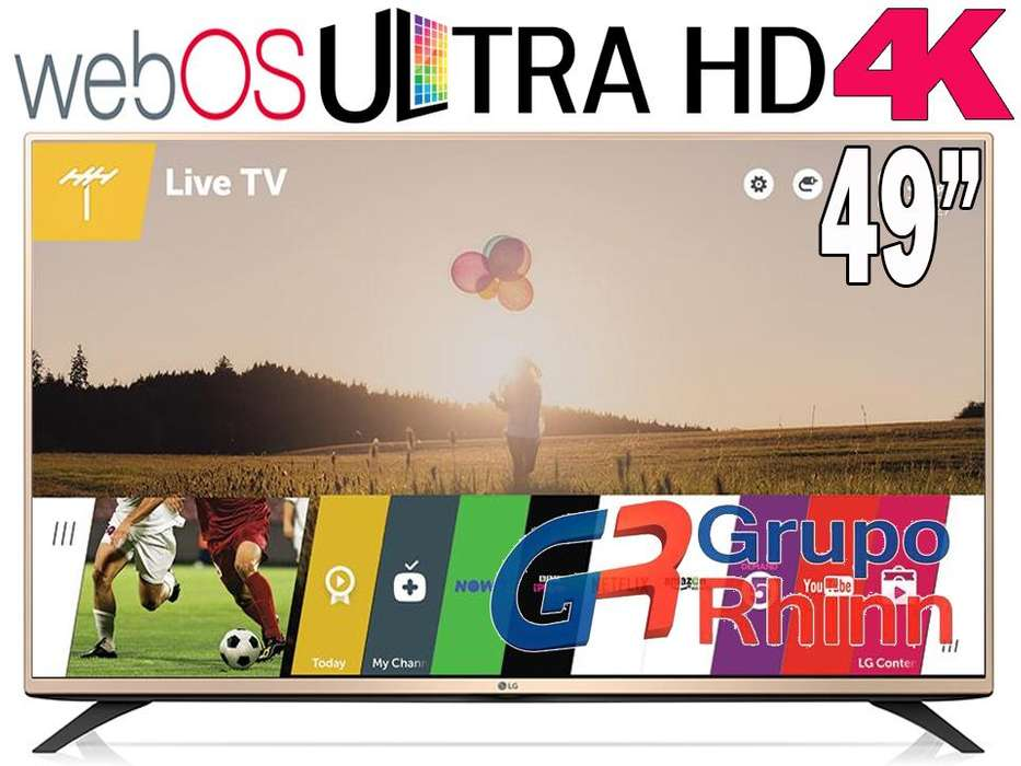 LG SMART TV 4K 49 UHD 49UF6900