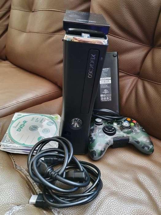 Vendo Cambio Xbox 360 Slim 500gb Juegos