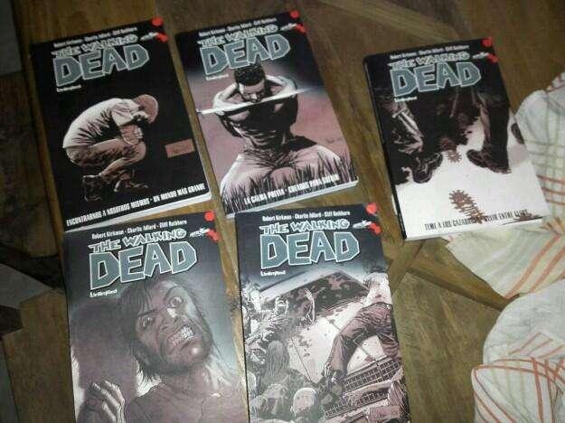 5 libros de walking dead