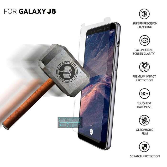 Film Templado Pantalla Samsung J8 Plano Zona Tribunales