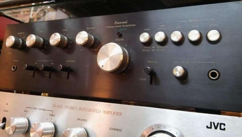 Amplificador Sansui AU4900 en excelente estado Japones