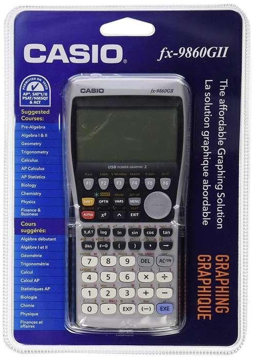 <strong>calculadora</strong> Casio Fx-9860gii Cientifica Grafica Sellada