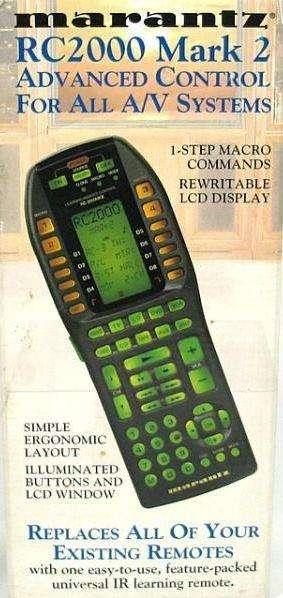 Control Remoto Inteligente Marantz Rc2000 Mkii En Martinez