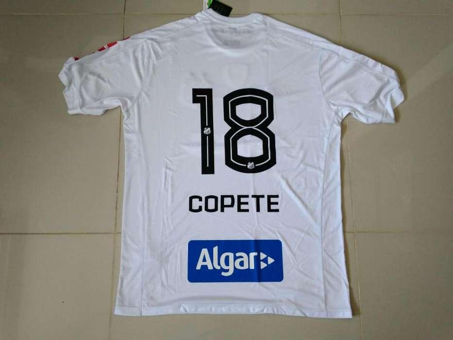 camiseta Jonathan Copete, Santos 2017/18, acepto cambios