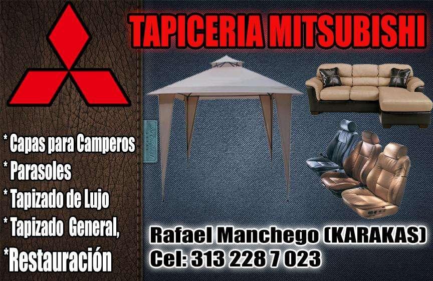 Parasoles y tapicería en Villavicencio