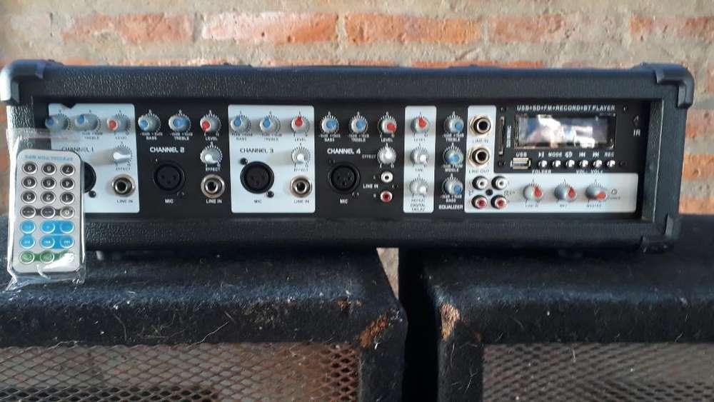 Vendo Amplificador 2 Bafles