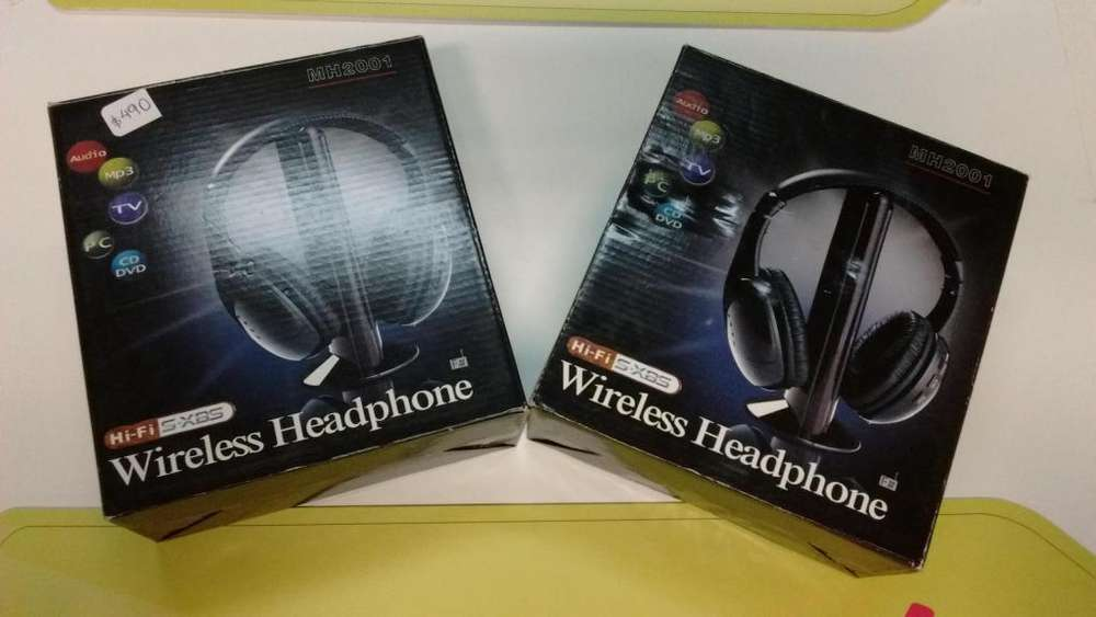 AURICULARES WIRELESS HEADPHONE MH2001 NUEVAGARANTIALOCAL. PROMO NAVIDAD