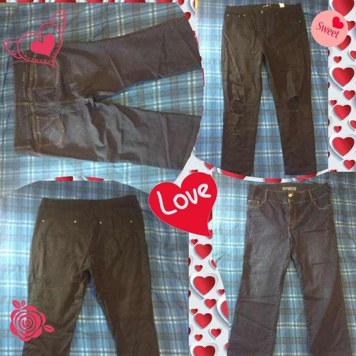 Lote 2 Jeans XXL Tallas Grandes Para Mujer Bajita 160cm o Menos Muy Poco Uso 9/10 Muy buena Calidad Plus Size