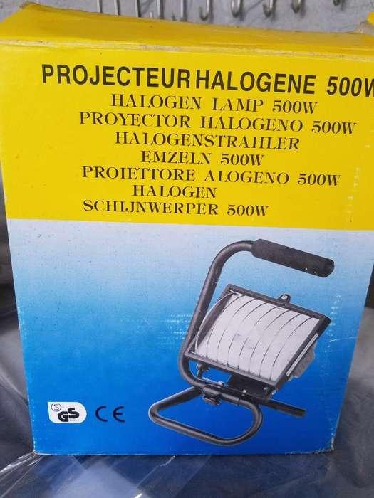 Lámpara Halogena 500w