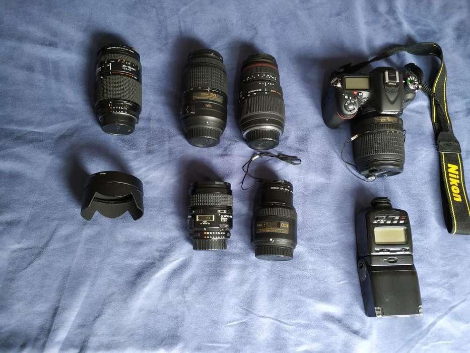 Kit Camara Nikon D7100 Mas 6 Lentes