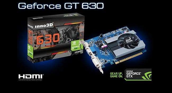 GeForce GT630 2GB SDDR3