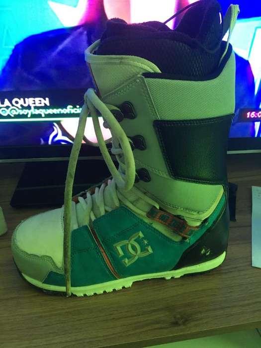 Vendo Botas de Snowboard Dc usadas