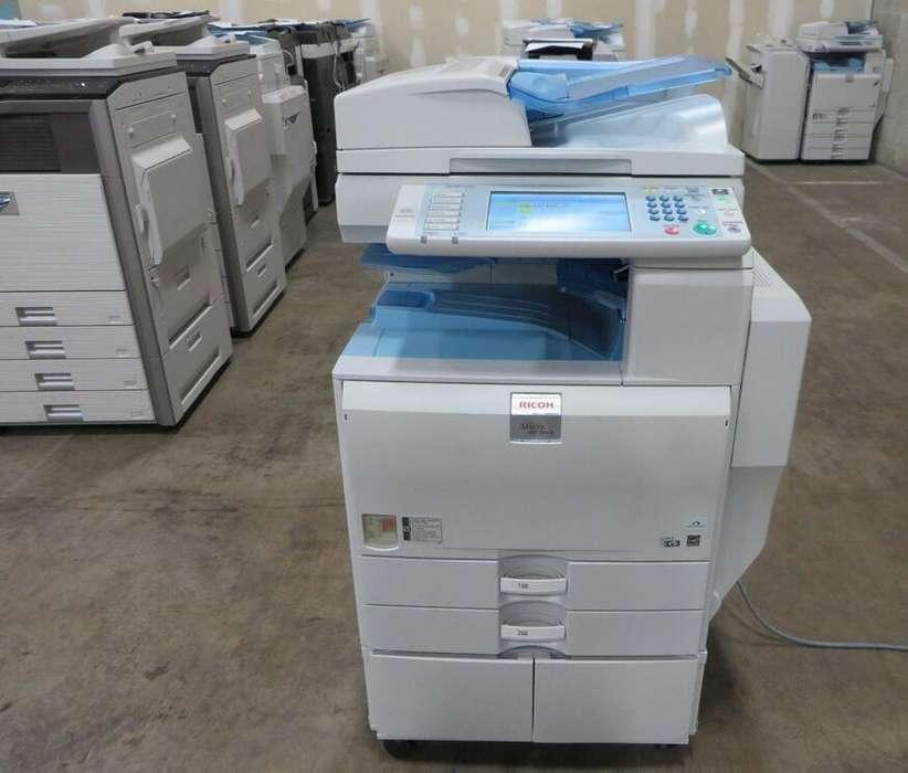 fotocopiadoras a color marca ricoh ultima tecnologia, como nuevas en promocion