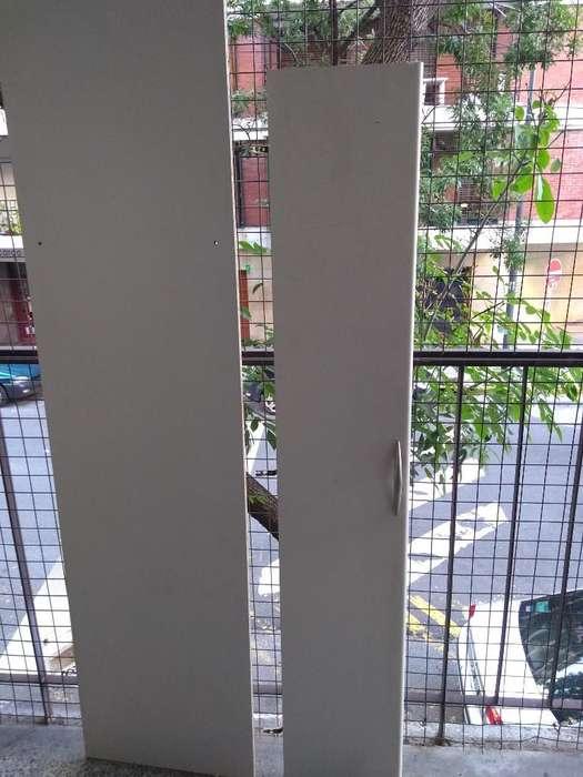 Placard de Cuatro Puertas con Cajones
