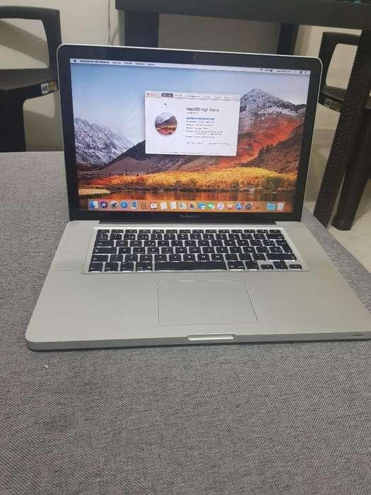 Macbook Pro 2012 15 Pulgadas