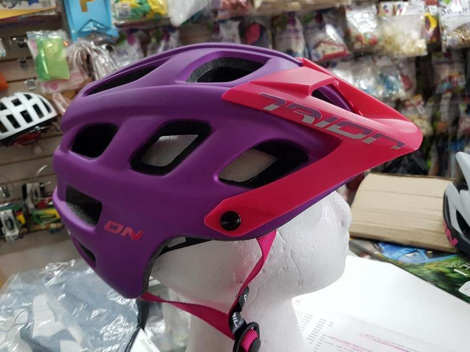 Casco Dama On Trail Trion Mtb/enduro