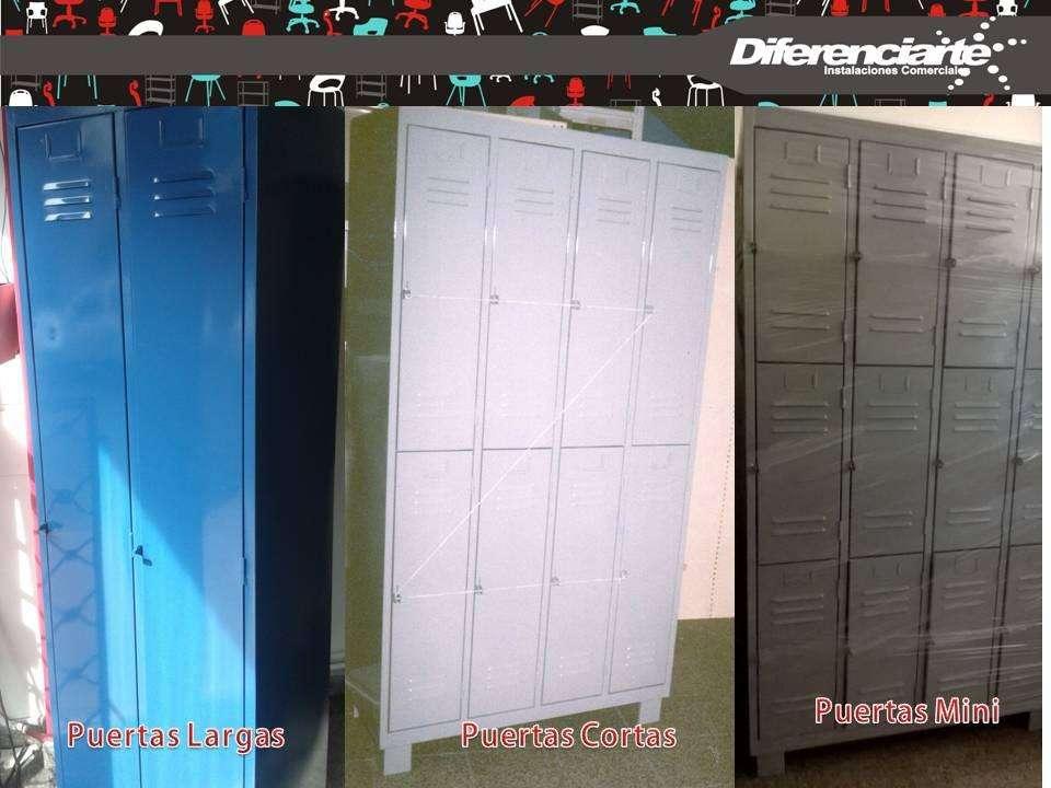 Guardarropas / Locker metálico 2 puertas