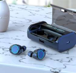 Tws Auriculares Tactiles Power Bank