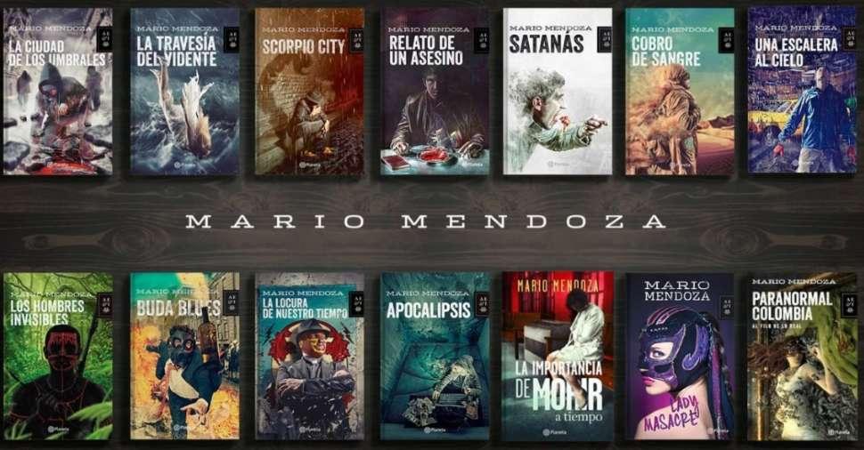 Coleccion Mario Mendoza x 10 libros a eleccion Gratis envios
