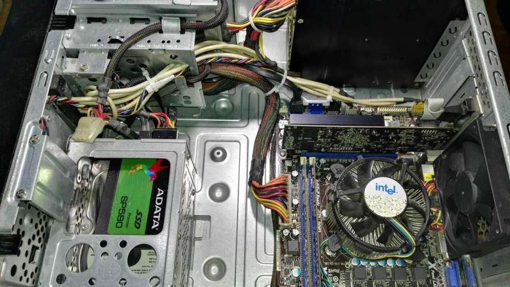 TORRE PC i5, 8GB RAM, 120500GB SSD y HDD, T. VIDEO 2GB, RECIEN ARMADO, Mas info en la descripción