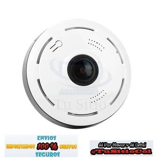 Envio Gratis Cámara IP de vigilancia seguridad Visión nocturna Vista 360 Wifi