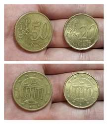 Monedas Alemania Euro Cents Lote x5