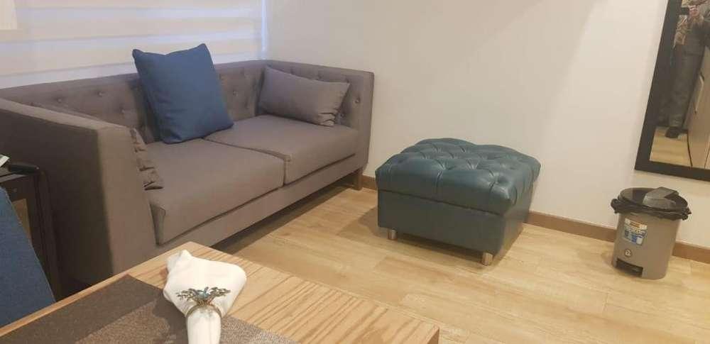 Arriendo Hermoso Loft con o sin muebles en Santa Barbara 4592022