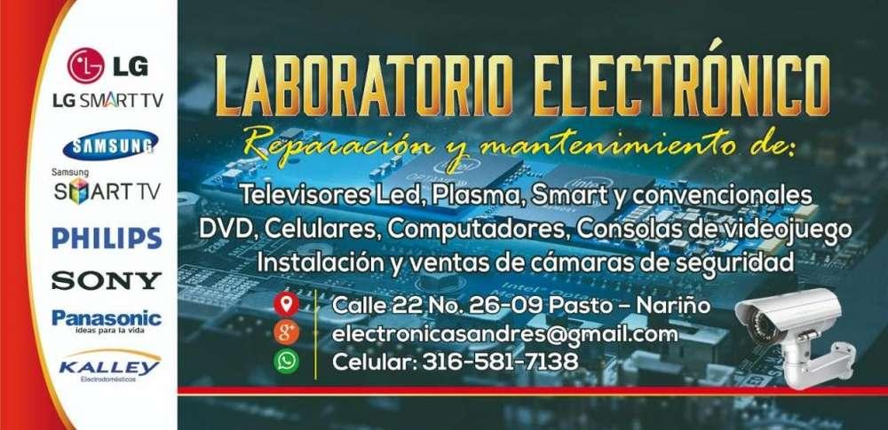 laboratorio electrónico ofrece