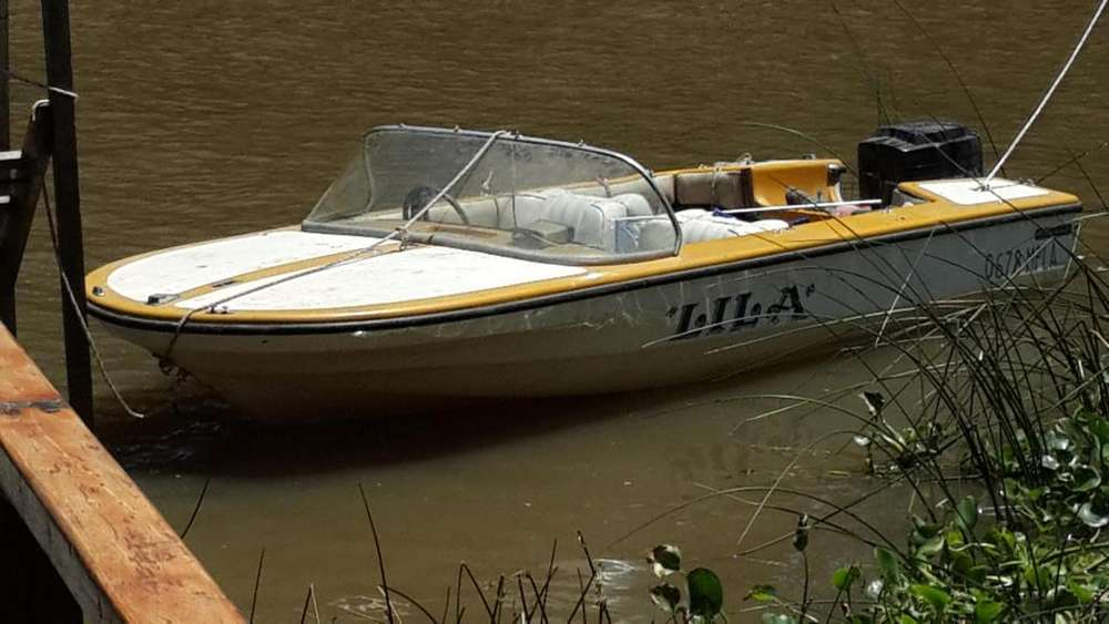 Lancha Deltamar. Motor 70hp Mercury
