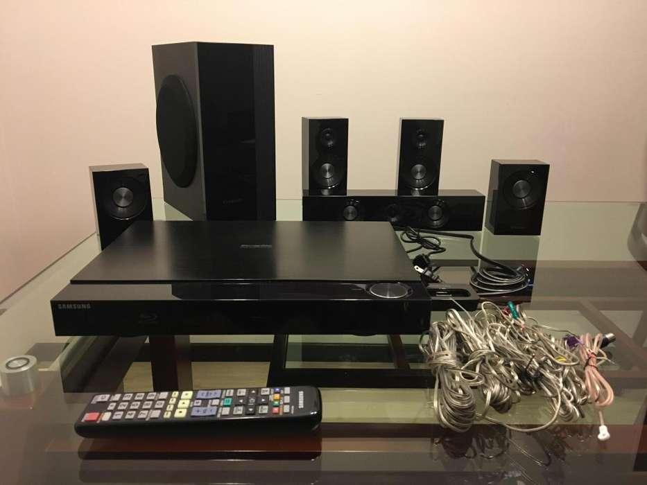 Home Theater Samsung DVD usado modelo HT-C5500