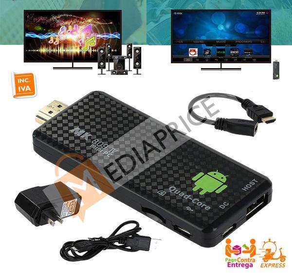 Mini PC Smart TV MK809 IV Android 5.1 RK3229 4 núcleos 1G/8G 4K Wifi